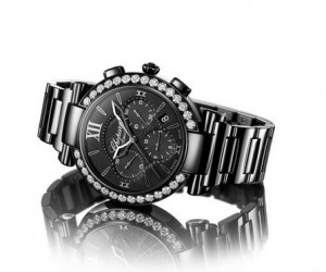 2013巴塞尔预览 萧邦Imperiale Chrono All Black腕表