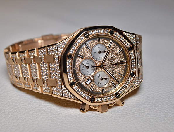 Canruo Morningstar Audemars Piguet Royal Oak Offshore Chronograph diamond
