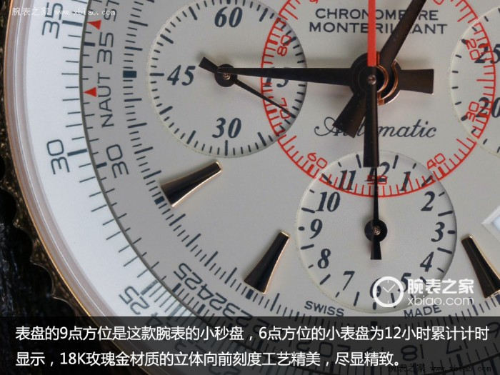 Reproduire le charme classique Mengbo Lang Breitling Chronograph Limited Edition Commentaire 01