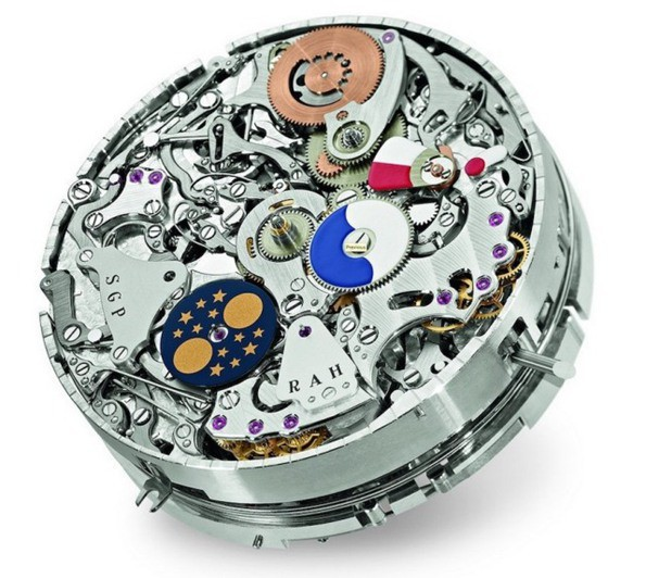 movement of Patek Philippe emperor 5175