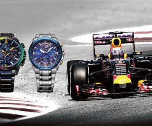 CASIO EDIFICE x Infiniti Red Bull Racing 腕上竞速