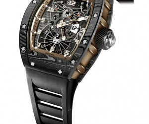 重磅飞行器:Richard Mille推出Tourbillon RM 022 Aerodyne Dual Time Zone Asia Edition陀飞轮双时区腕表亚洲版