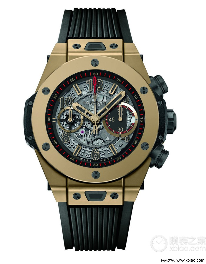 Hublot Big Bang Unico magic gold watch For Valentine's Day