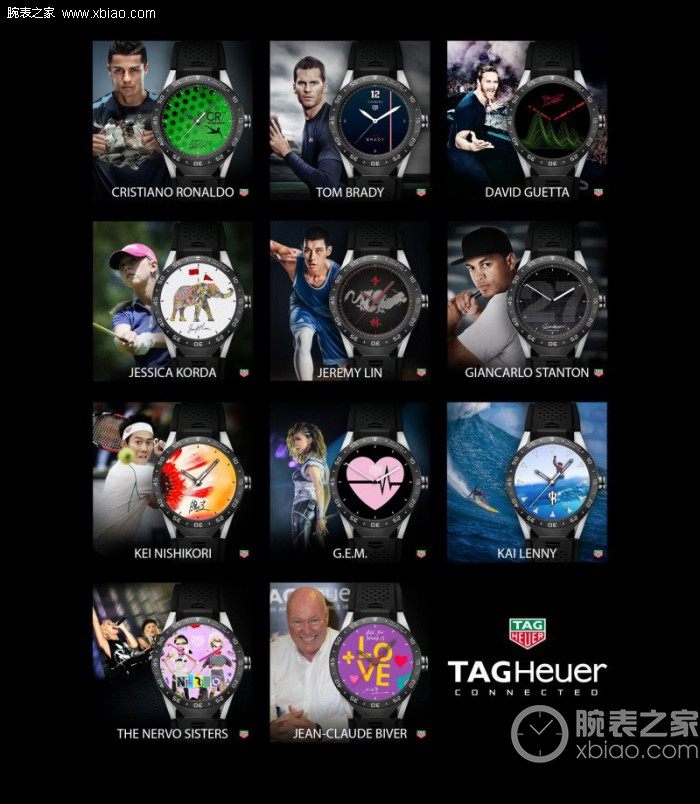 TAG HEUER launched  exclusive series dials designed by the brand ambassador
