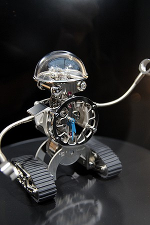 MB&F Sherman robot-watch (MB&F机器人座钟)