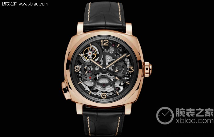 Panerai Radiomir 1940 Minute Repeater Carillon Tourbillon GMT Watch