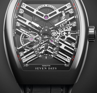 巧夺天工:Franck Muller Vanguard 7 Days Power Reserve Skeleton七日动力储能镂空表