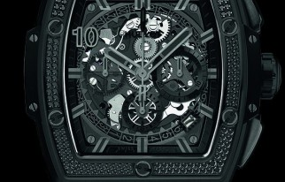 HUBLOT宇舶 SPIRIT OF BIG BANG  All Black – SKP Limited Edition灵魂系列全黑腕表