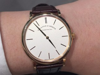 真不是DW  入手朗格 Saxonia Thin 37