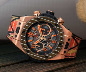 Hublot宇舶表推出Big Bang Unico Teak Italia Independent限量計時碼表