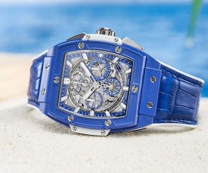 Hublot宇舶表推出Spirit of Big Bang藍色限量腕表