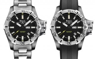 深海中散发耀眼亮光:Ball Watch Engineer Hydrocarbon Submarine Warfare