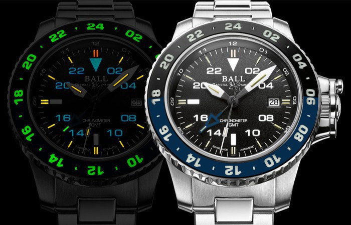 藍黑圈新選擇:BALL Watch Engineer Hydrocarbon AeroGMT II