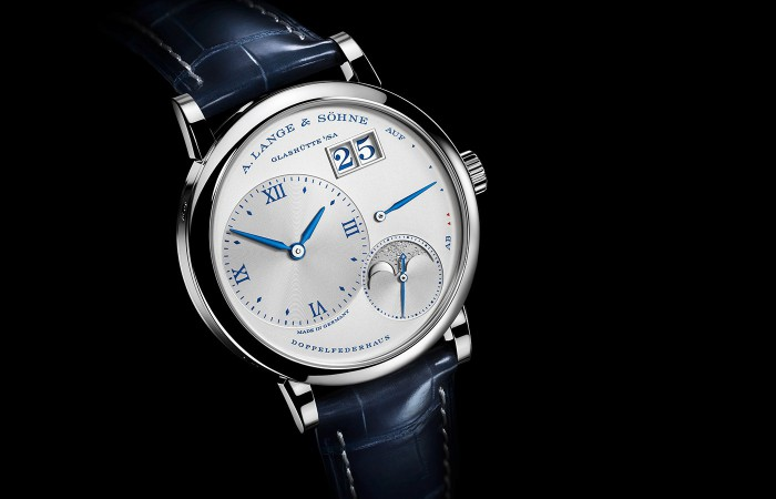 "LITTLE LANGE 1 MOON PHASE ""25th Anniversary""—— 朗格推出第九款周年系列紀念腕表"