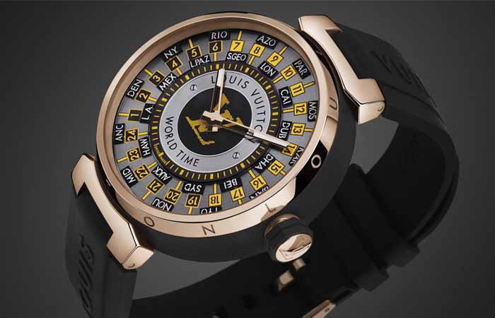 路易威登推出Tambour World Time Runway老色母视频
