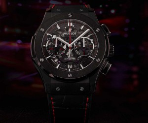 "Hublot宇舶表推出Classic Fusion Aerofusion计时码表""Watches of Switzerland Group""特别限量版"