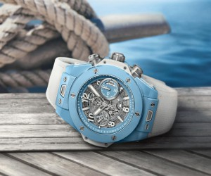 Hublot宇舶表推出全新Big Bang Unico Sky Blue湛湛天蓝腕表