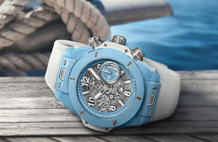 Hublot宇舶表推出全新Big Bang Unico Sky Blue湛湛天蓝伊人影院