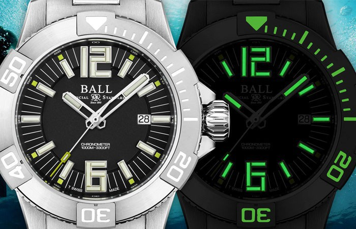 对进步的追求永不停歇,不断演变:BALL Watch Engineer Hydrocarbon DeepQUEST II