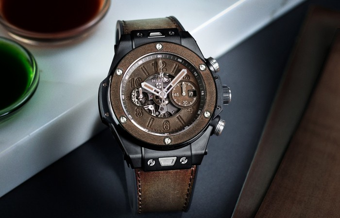 HUBLOT宇舶表 BIG BANG UNICO BERLUTI冷棕色善良的女秘密书2完整版
