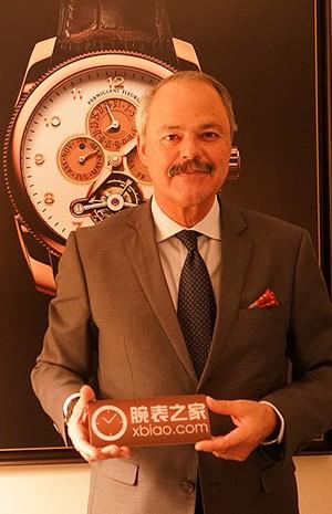 采访帕玛强尼Flavien Gigandet先生,最喜欢的酒桶型腕表就诞生在这了