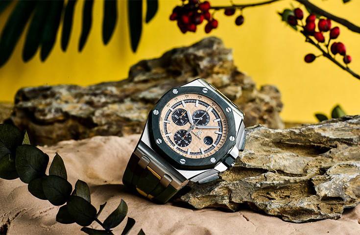 迷彩配色来了 品鉴爱彼皇家橡树离岸型腕表