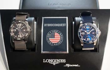 浪琴表推出HydroConquest康卡斯潜水系列美国独家限量腕表