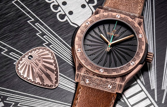 你有摇滚魂吗?Hublot Classic Fusion Wild Customs腕表