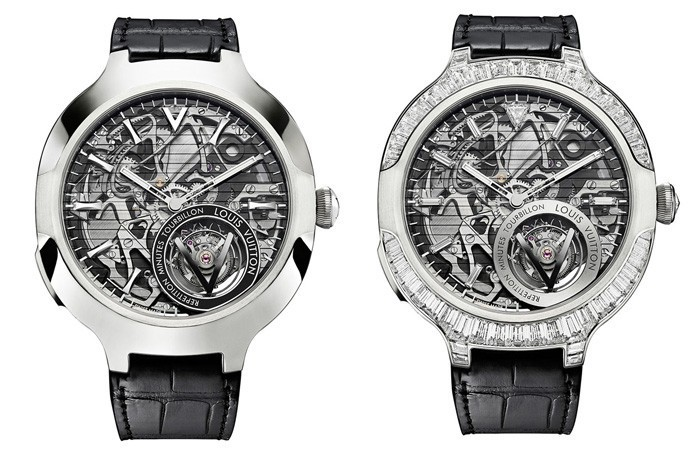 LV的复杂大秀:路易威登Voyager Minute Repeater Flying Tourbillon
