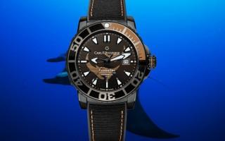 """深海下的霸气时计 品鉴宝齐莱""""黑魔鬼鱼特别款""""腕表"""