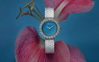 梦中的天蓝 品鉴萧邦L'Heure du Diamant系列珠宝腕表