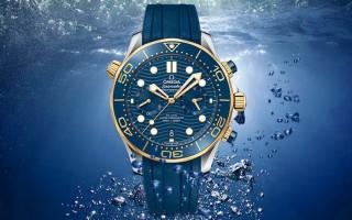潜水与计时的结合 品鉴欧米茄海马系列全新计时腕表