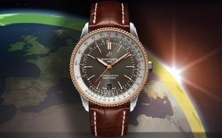 演绎经典传奇 品鉴百年灵全新航空计时1自动机械腕表