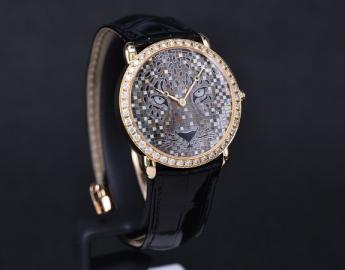 高级制表与珠宝工艺的完美融合 品鉴卡地亚REGARD DE PANTHÈRE猎豹造型腕表