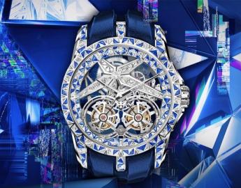 售价658万 仅此一枚,这是你爱的那块钻表吗?