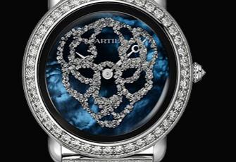 卡地亚LaPanthère猎豹造型腕表