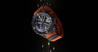 【视频】当精妙制表匠心深入神秘未知的潜水世界 雅典表潜水系列DIVER X 镂空腕表